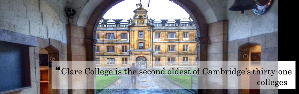 Clare college title
