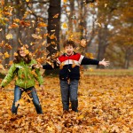 Children aren't active enough in winter, especially at weekends